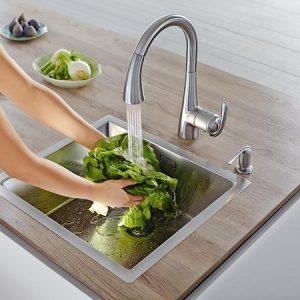 Keittiö- ja kylpyhuonehanat